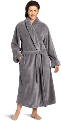 Casual Moments Women's Size 50 Inch Set-in Belt Plus Robe