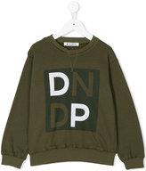 Dondup Kids logo print sweatshirt