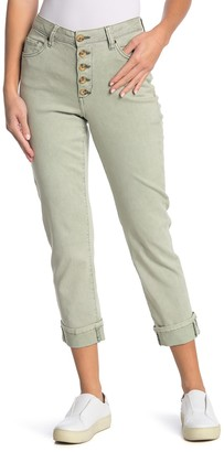 Jag Jeans Joan Straight Cropped Jeans