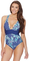 Athena Balinese Bloom Alana Cross One Piece
