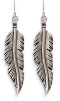 Philippe Audibert 'Tizziri' feather drop earrings