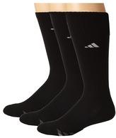 adidas Cushioned 3-Stripe 3-Pair Crew Sock