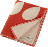 Orla Kiely Giant Stem Apricot Throw - Cream Red