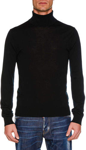 DSQUARED2 Men's Wool Turtleneck Sweater