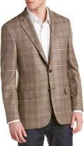Hickey Freeman Milburn Ii Wool, Silk & Linen-Blend Sportcoat