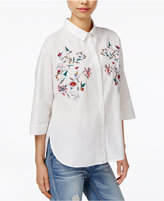 Velvet Heart Wynee Cotton Embroidered Shirt