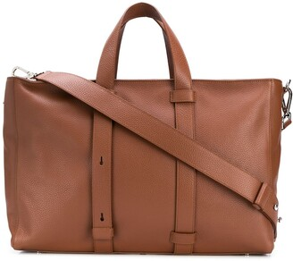 Orciani Embossed Tote Bag