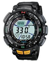 Casio Men's Pathfinder Tough Solar Triple Sensor Digital Chronograph Watch - PAG240-1