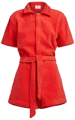 Terry. Cotton Playsuit