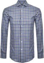 Boss Business BOSS HUGO BOSS Slim Fit Jason Shirt Blue