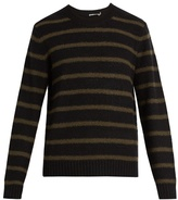 Vince Striped Wool-blend Sweater