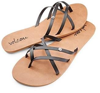 Volcom Women's New School Dress Sandal Flat