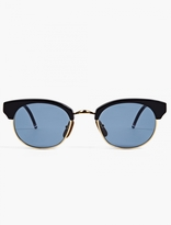 Thom Browne Tb-702 Plated Gold Sunglasses