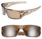 Oakley Men's 'Crankshaft' 60Mm Polarized Sunglasses - Brown Smoke