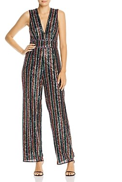 Saylor Rainbow Sequin Jumpsuit