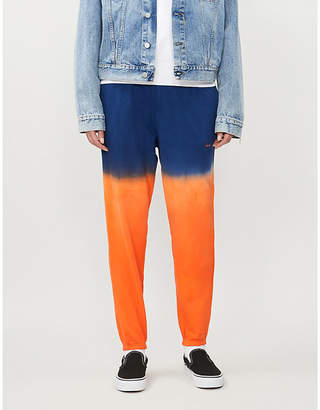 Polo Ralph Lauren Dip-dyed cotton-jersey jogging bottoms