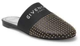 Givenchy Bedford Patterned Leather Mules