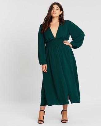 Atmos & Here Vera Sleeve Maxi Dress