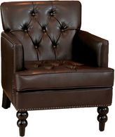 JCPenney Mikaella Bonded Leather Club Chair