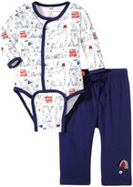 Magnificent Baby Tally Ho Burrito Pant Set (Baby) - Multicolor-6 Months