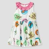 Genuine Kids Toddler Girls' Dr. Seuss A Line Dress Genuine Kids- White