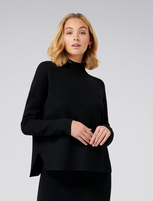 Forever New Aria Boxy Co-Ord Jumper - Black - s