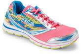 Fila Pink & Blue Memory Tempera Running Sneakers