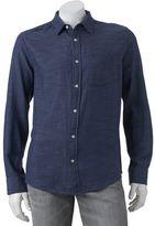 Big & Tall Urban Pipeline® Slubbed Button-Down Shirt