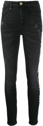 Philipp Plein High Waisted Jeggings