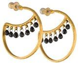 Gurhan 24K Diamond Delicate Dew Earrings