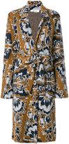 Circus Hotel floral printed coat