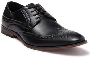X-Ray XRAY Wingtip Perforated Dress Shoe