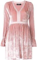 Twin-Set velvet empire-line dress