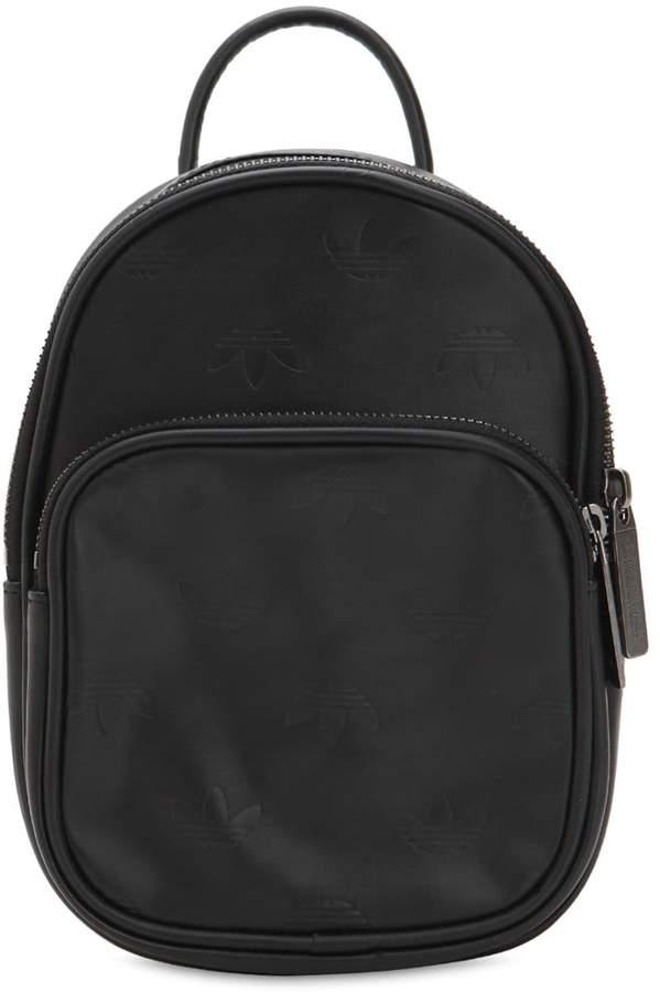 adidas Mini Classic X Faux Leather Backpack
