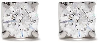 Roberto Demeglio 18kt White Gold Diamond Square Studs