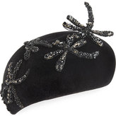 Philip Treacy Beret w/ Beaded Dragonflies
