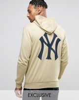 Majestic Yankees Hoodie With Back Print Exclusive to ASOS