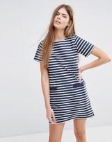 Jack Wills Striped T-Shirt Dress