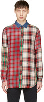 Diesel Red Check S-Melvin Shirt