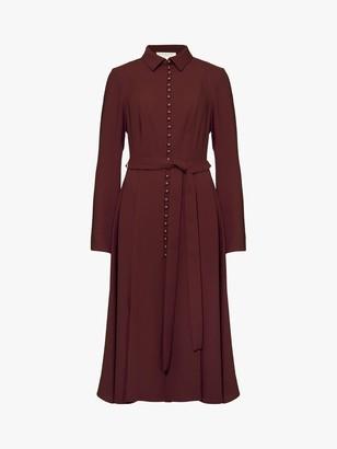 Damsel in a Dress Lanie Military Dress, Burgundy