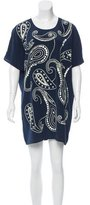 Trina Turk Silk Embellished Dress