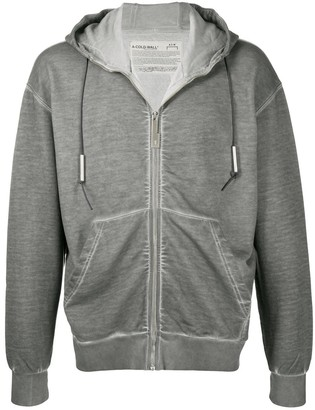 A-Cold-Wall* Plain Zip-Up Hoodie