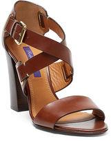Ralph Lauren Lacey Calfskin Sandal