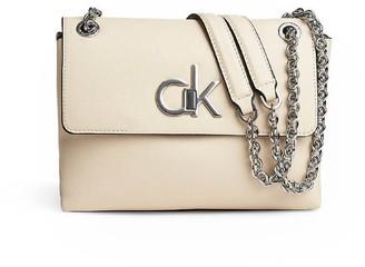 Calvin Klein Beige Crossbody Bag