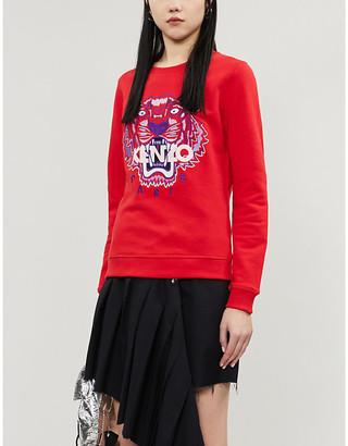 Kenzo Logo cotton-jersey sweatshirt