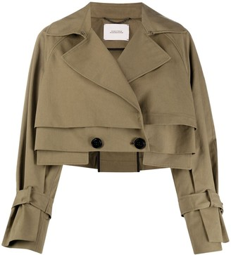 Dorothee Schumacher Wrap Front Cropped Jacket