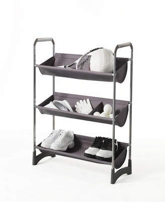 Neatfreak Stackable 3-Tier Fabric Bin Utility Shelf