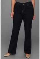 MICHAEL Michael Kors Plus Size Stripe Clean Sexy Bt Jean (Twighlht Wash) - Apparel