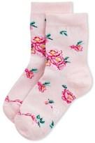 Petit Bateau Girls socks with floral motif