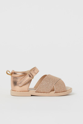 H&M Glittery sandals